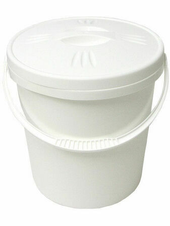 Junior Joy Nappy Bucket with Lid - 16 Litre - Choose your Colour