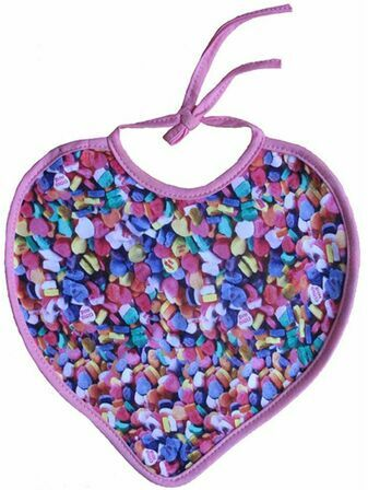Xplorys Sweetheart Baby Bib - Choose your favourite sweets!!!