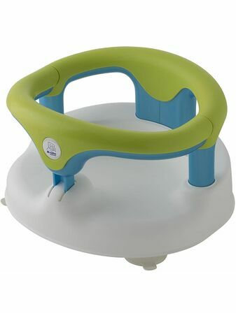 Rotho Babydesign Bath Seat, With hinged ring and child safety lock, 7-16 months, Up to 13 kg - Choose your colour