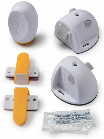 Safety 1st Adhesive Magnetic Cupboard Lock - 2 Pack