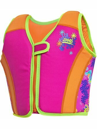 Zoggs Swimsure Jacket Sea Unicorn Pink