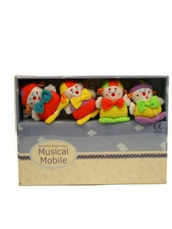 Musical Mobile - Happy Clowns