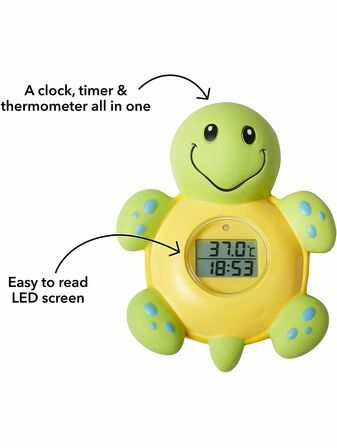 Nuby Bath Thermometer 3in1