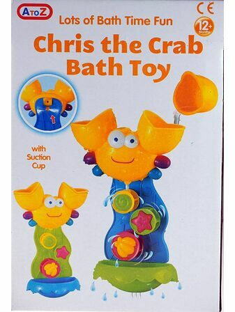 Chris The Crab Bath Toy