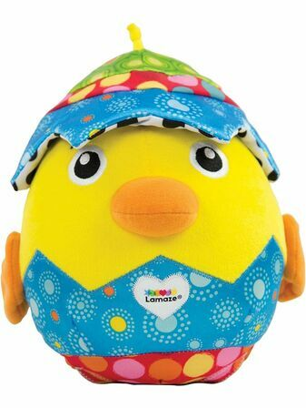 Lamaze Hatching Henry Soft Cuddly Toy for Baby, Babies Plush Toy for Sensory Play 6+ mths