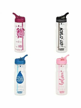 Polar Gear Daily Water Tracker 750ml Tritan Bottle - Choose your Style