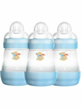 MAM Easy Start Bottle 160ml 3 Pack - Choose your colour