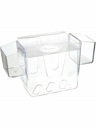 Prince Lionheart Nappy Depot - Hanging Nappy Caddy - Clear
