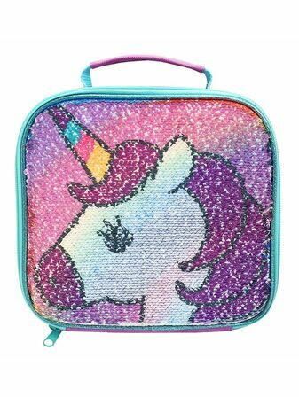 Polar Gear Polar Gear Unicorn Sequin Flip Lunch Bag