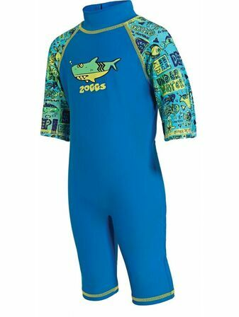 Zoggs Sun Protection Swimsuit Deep Sea Blue - Choose your size