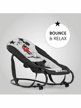 Hauck Disney Rocky Bouncer - Choose your Mickey or Minnie Mouse