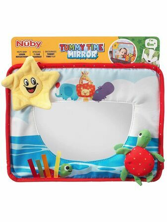 Nuby Tummy Time Mirror 6+ mths