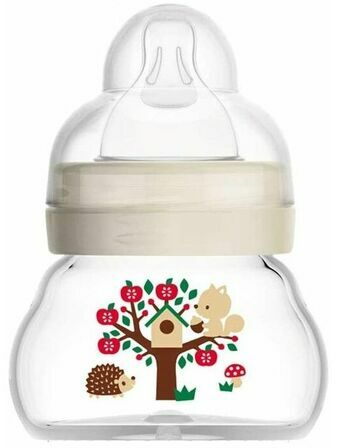 MAM Bottle Feel Good Extra-Small Glass Baby Bottle 90ml