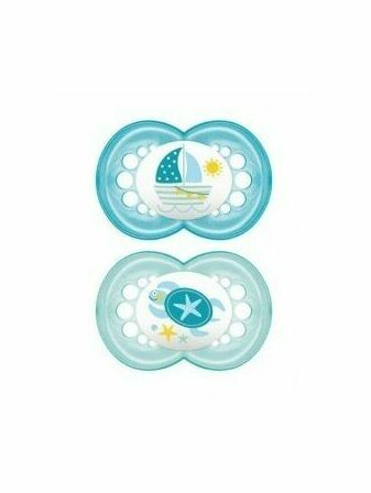MAM Original Soother 6mths + 2 Pack - Choose your designs