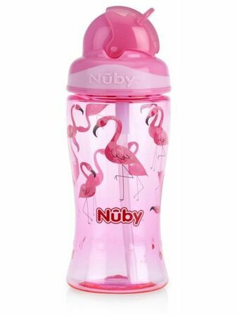 Nuby Flip it Toddler Cup 360ml - Choose your design