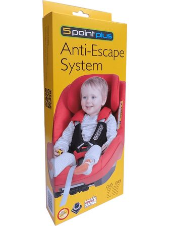 5 Point Plus Car Seat Anti Escape System Adjustable 6 Months to 4 years