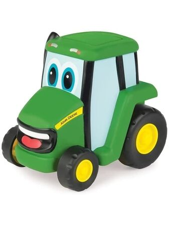 John Deere Kids Push and Roll Johnny Tractor 18+ mths
