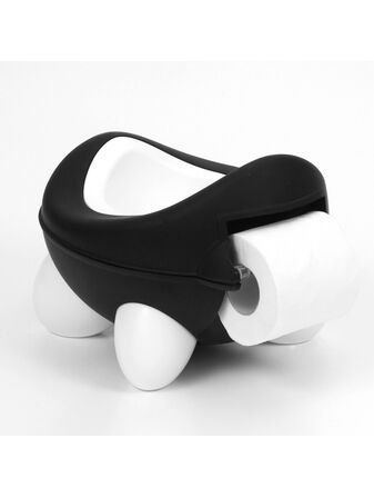Kids Kit Baby/Toddler Bug Potty - Black & White