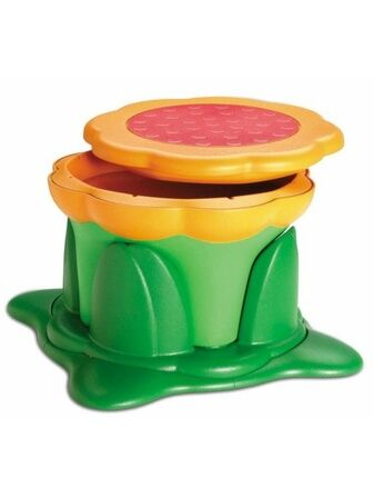 Kids Kit Kiddy Flower Storage Stool - Green