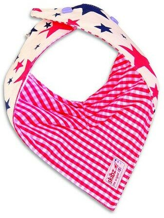Skibz Doublez Dribble Bibs (Red and Blue Stars)