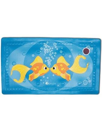 Bojungle Bathmat with Temperature Indicator – Fishies