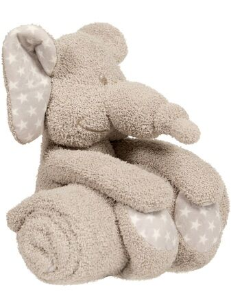 Bojungle B-Plush Toy with Blanket – Zimbe the Elephant
