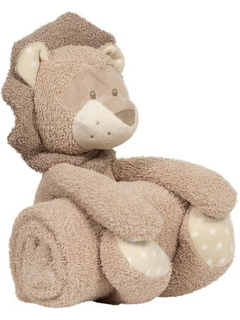 Bojungle B-Plush Toy with Blanket – Kenzi the Lion