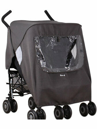 Koo-Di Keep Us Dry Universal Double Stroller Rain Cover