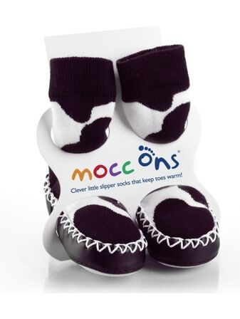 Baby/ Toddler Mocc Ons - Cow Print