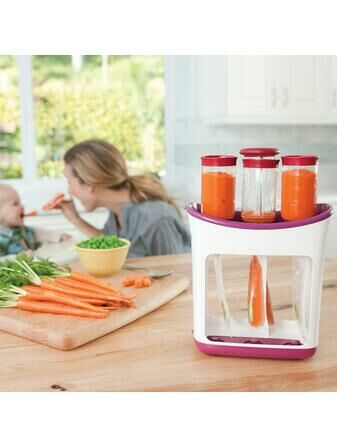 Infantino Baby Food Fresh Squeezed Squeeze Station