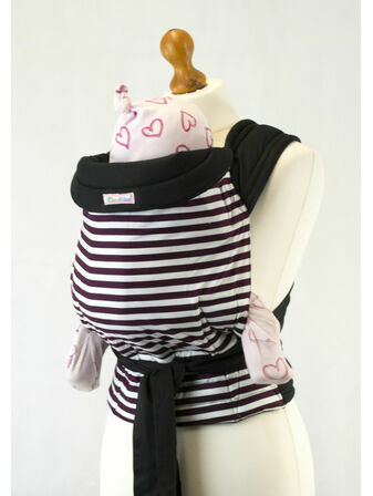Palm & Pond Mei Tai Baby Sling  - Brown Stripe