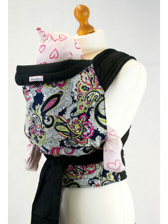 Palm and Pond Mei Tai Baby Carrier - Paisley Design