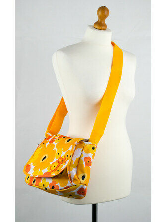 Okiedog Flower Power Genie Baby Changing Bag - Orange/Yellow