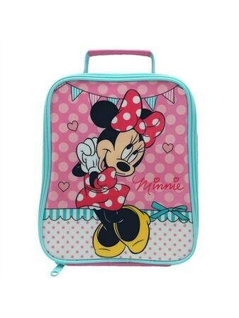 Disney Minnie's Day Out Tall Tapered Insulated Lunch Bag