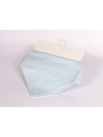 Soft Touch Super Soft Bandana Bibs - Light Blue