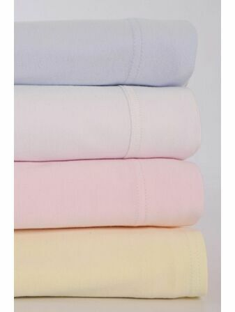 2 Pack Extra Soft Jersey Cotton Fitted Sheets for Cot bed (Cotbed) - 70 x 140cm