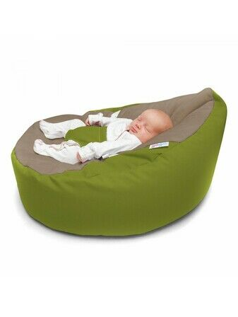 GaGa Cuddlesoft Olive Green Baby Bean Bag
