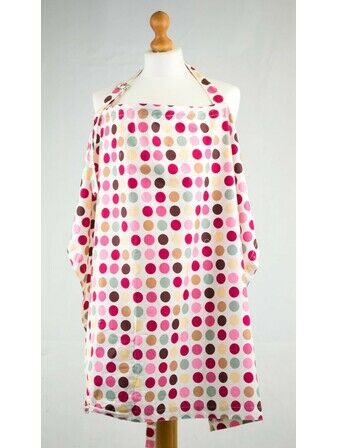 Palm and Pond Nursing Cover Extra Large Spotty