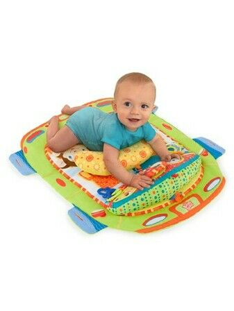 Bright Starts Safari Adventures Prop & Play Mat