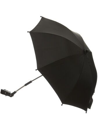 Kiddicorp Black Clip On Stroller Parasol With UV Protection