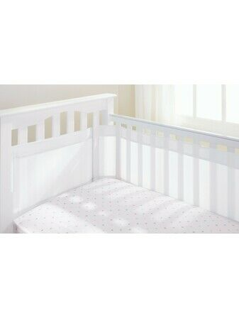 Breathable Baby Airflow Cot Liner - White