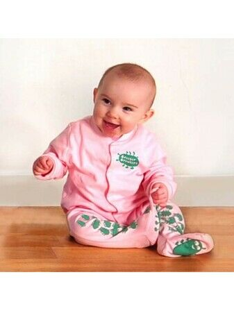 Creeper Crawlers Easy Grip Crawl Suit - Pink