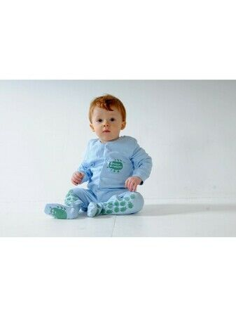 Creeper Crawlers Easy Grip Crawl Suit - Blue