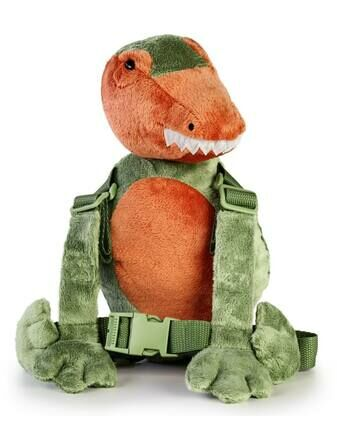 Goldbug Harness Buddy - Dinosaur
