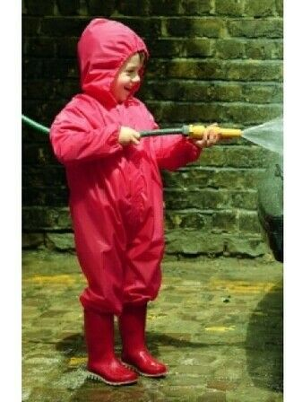 Clippasafe Splash and Play Suit 100cm Red - Approx 2.5 - 4 years