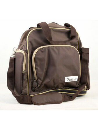 Palm and Pond Changing Back Pack Chocolate