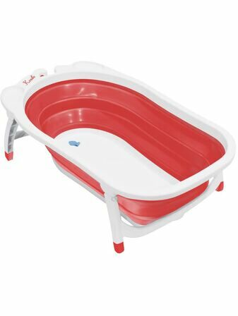 Babyway Karibu Foldable Baby Bath Red