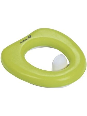 Safety 1st Padded Toilet Trainer Seat - Lime Green