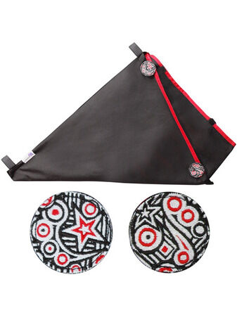 Koo-Di Elephant and Apple Stroller Bag - Rock Star