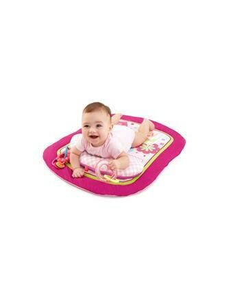 Bright Starts Pretty in Pink Savanna Prop & Play Mat
